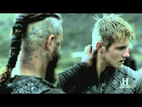bjorn lothbrok hairstyle vikings ragnar and his son bjorn episode 4 hair