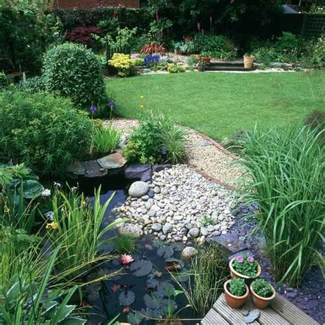 simple backyard ponds simple backyard design with a small pond for the garden
