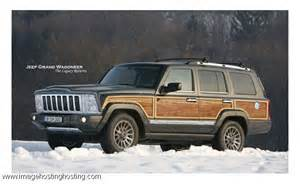 Jeep Grand Wagoneer 2015 The New 2015 Jeep Grand Wagoneer Complete With The Wood