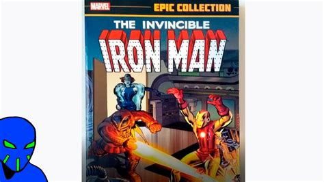 iron man marvel epic collection golden avenger