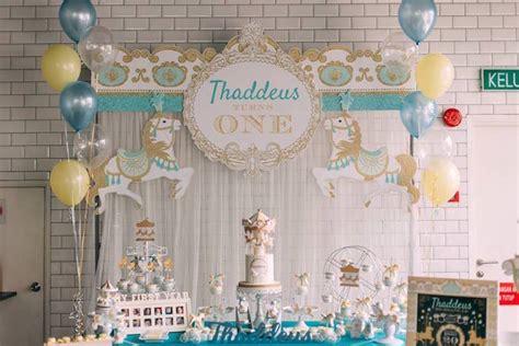 karas party ideas merry   carousel birthday party karas party ideas