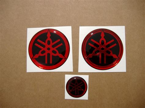 yamaha emblem yamaha gel silicone 3d gas tank emblems decals in