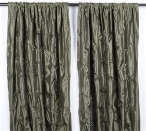 pintuck drapes sage green pintuck curtains traditional curtains by
