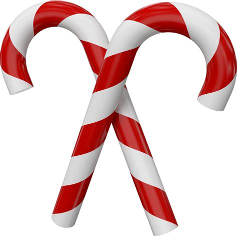 candy cane large transparent christmas candy canes png 1500 215 1493