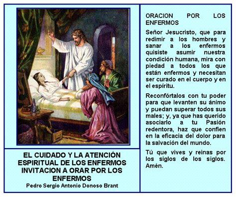 imagenes catolicas de sanacion el cuidado y la atenci 211 n espiritual de los enfermos