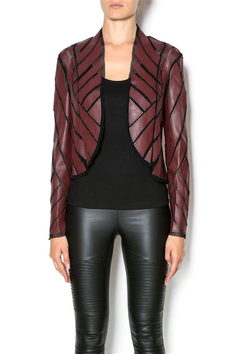 Mesh Outerwear caribbean mesh leather jacket from manhattan by dor l dor shoptiques