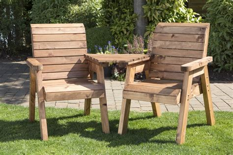 wooden garden seats benches uk made fully assembled heavy duty wooden garden love seat