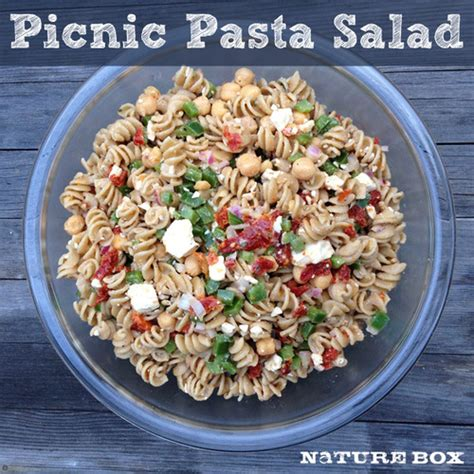 pasta salad mayo no mayo picnic pasta salad naturebox blog
