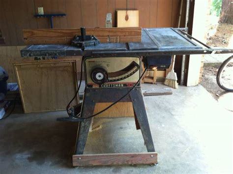 Sears 10 Inch Table Saw by Sears 10 Table Saw Espotted