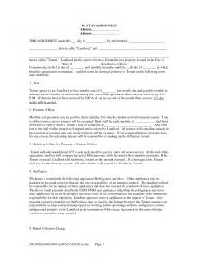 landlord contracts templates property california rental agreement template free