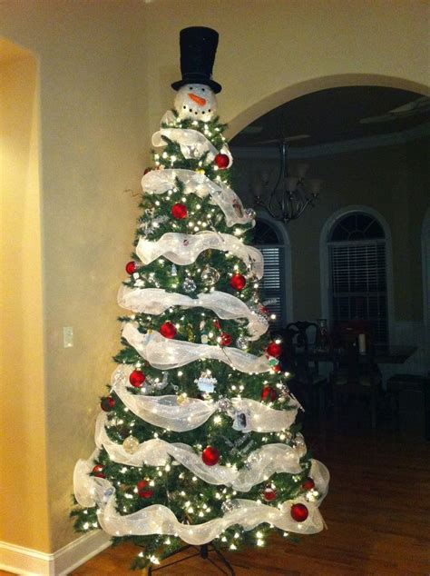 awesome snowman christmas tree christmas tree ideas