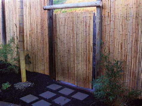 backyard bamboo fencing most awesome backyard hideaways diy