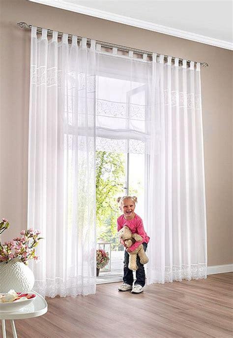 shop gardinen 2 st gardine vorhang voile 140 x 225 wei 223 bestickt