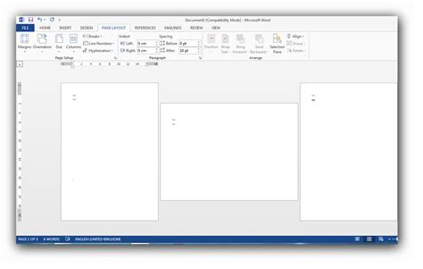 word layout horizontal how can i make just one page of a word document horizontal