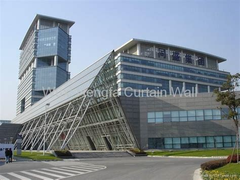 curtain wall company aluminium curtain wall door window china manufacturer