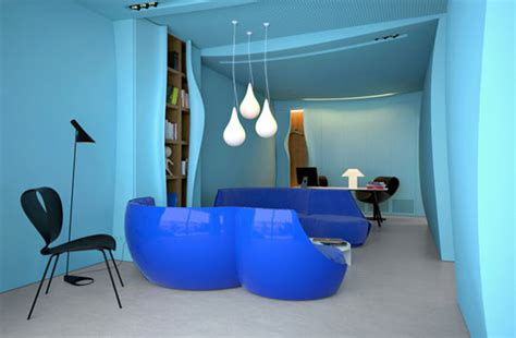 blue office color psychology in interior design angrylittledesigner