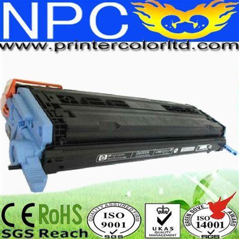 Toner Cartridge Remanufactured Q6000a K Q6001a C Q6002a Y Q6003a magenta toner reset chip for hp laserjet q6000a print
