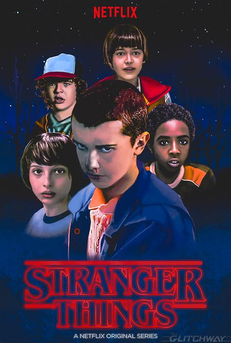 film seri stranger things stranger things fan art is a gorgeous realm of 80s