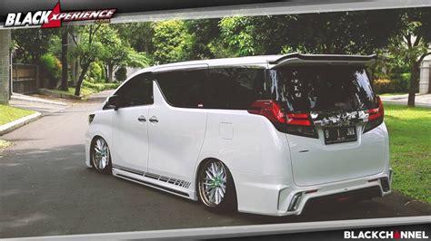 Cover Mobil Indoor Toyota Alphard toyota alphard tergoda oleh glanzen silk blaze doovi