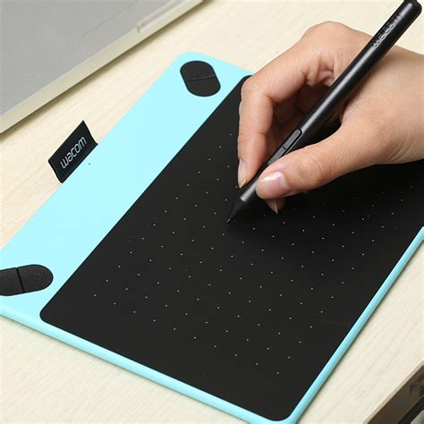 New New Wacom Intuos Draw Ctl490 Blue Garansi Resmi Bonus Aif612 usd 133 13 wacom ctl490 pen tablet intuos painted board computer drawing board ps drawing