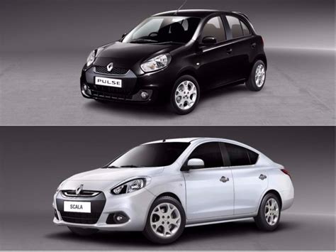 renault india renault pulse scala fluence and koleos discontinued in