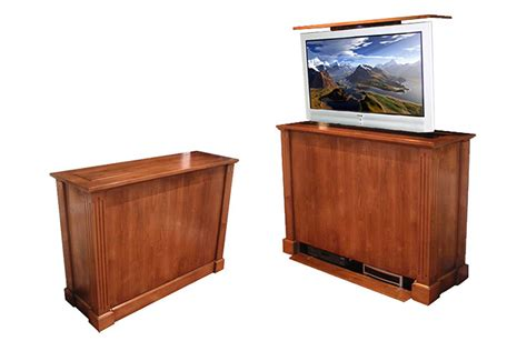 Cabinet Executive Pop Up Tv Stand Executive Custom Motorized Tv Stand
