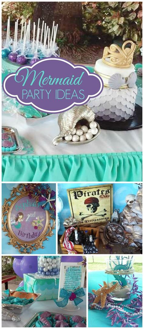Mermaid And Pirate Decorations by The World S Catalog Of Ideas