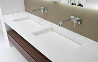 integrated bathroom sink and countertop myslot integrated sink modern bathroom sinks miami