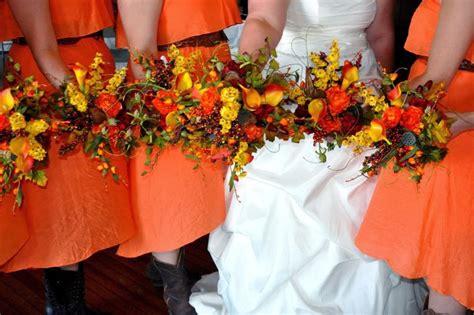 fall flowers in season cathy s flowers fall wedding on mount nebo