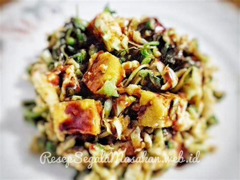 resep membuat capcay tahu resep membuat karedok tahu sayuran resep masakan