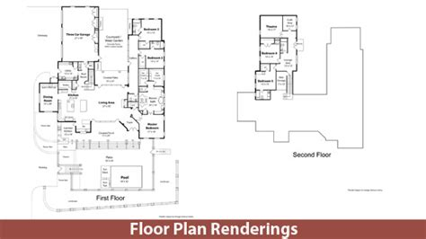 floor plan renderings floor plan renderings lucas art works