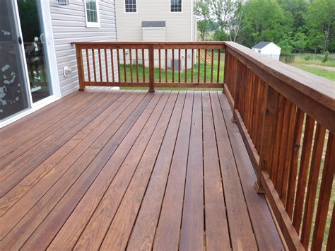 gallery of deck staining from appalachian deck staining