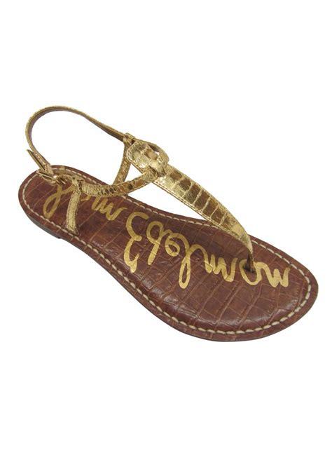 Sandal Wedges Boa sam edelman gigi boa snake sandal gold