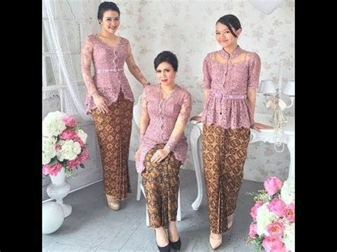 Baju Untuk Kondangan Model Baju Kebaya Modern Indonesia Untuk Kondangan