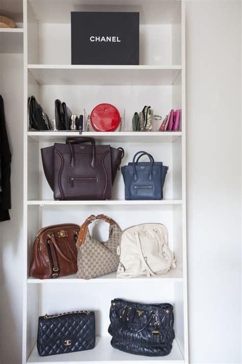 organized handbags organizing spotlight neat method