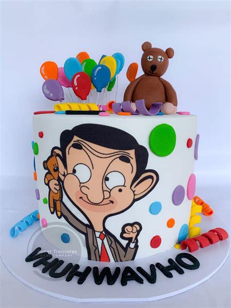 bean birthday cake