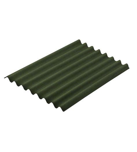 tettoie ondulato onduline lastra ondulata bituminata easyline verde 100 x