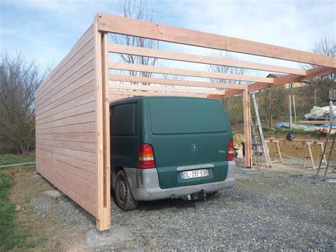 Carport Contractors Une Abri Voiture Type Carport Mono Pente Jardi Brico