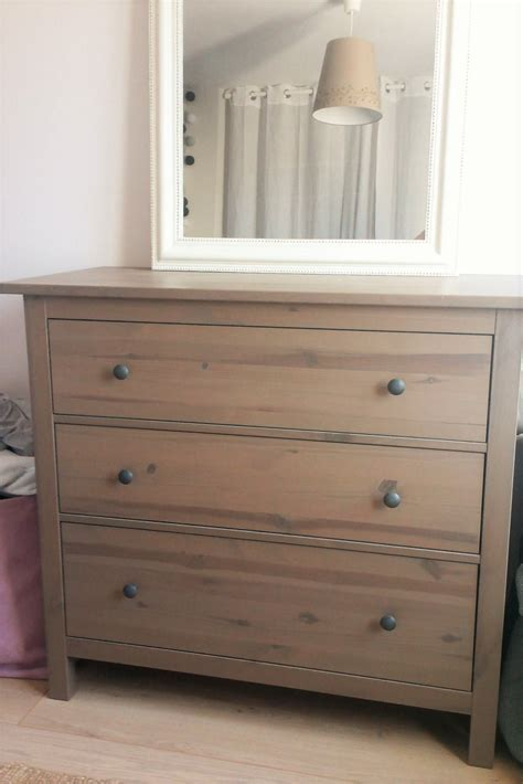 Commode Hemnes Gris Brun by Une Nouvelle Finition Pour Ma Commode Ikea Home By