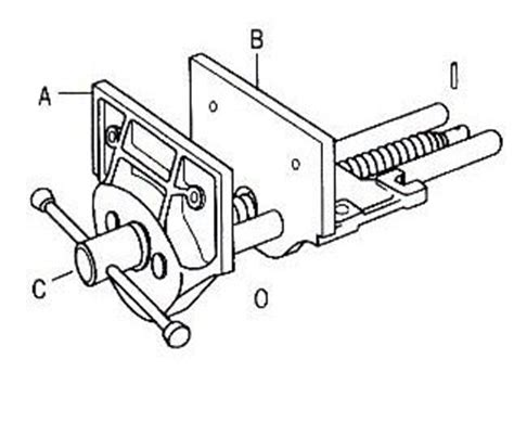 diagram of bench vice storage furniture pdf guide