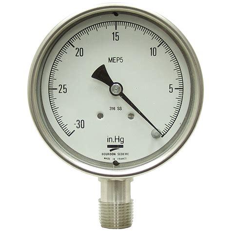 Vaccum Gauges 30 quot hg 4 lm vacuum pressure vacuum gauges pressure gauges air pneumatics