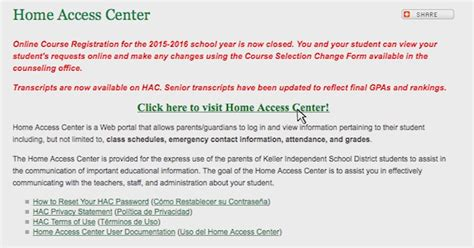home access center keller isd 3201 trail fort worth tx