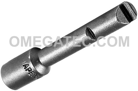 450 9 32 apex brand 130 a yankee type bit holder for 1 4 inserts