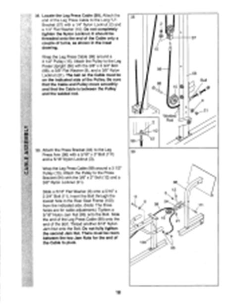 weider pro 9645 manual page 12