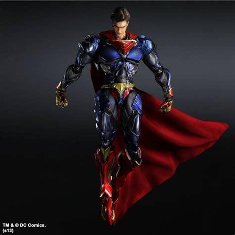Variant Play Arts play arts dc variant superman the toyark news
