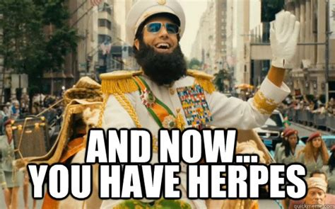 The Dictator Memes - australia is using herpes to fight off a fish invasion