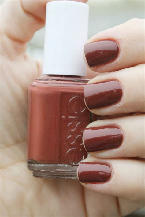 essie nail color essie structured classic blend of chocolate brown and