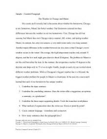 Exle Of Analogy Essay by Exle Of Compare Contrast Paragraphs 1