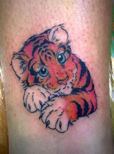 baby tiger tattoo white tiger stencils design idea for and