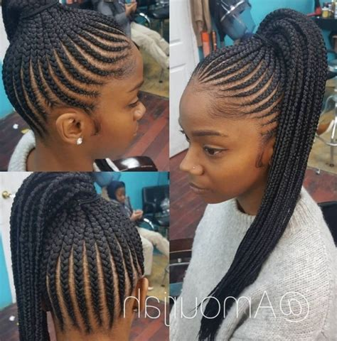 Black Braided Hairstyles With Weave by Braided Hairstyles With Weave Ideas